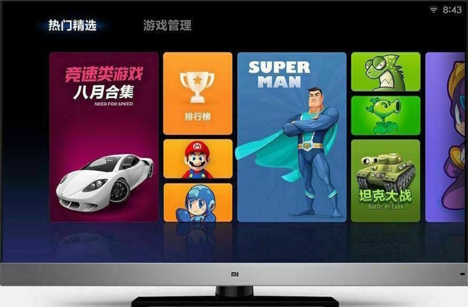 Xiaomi Mi TV front on