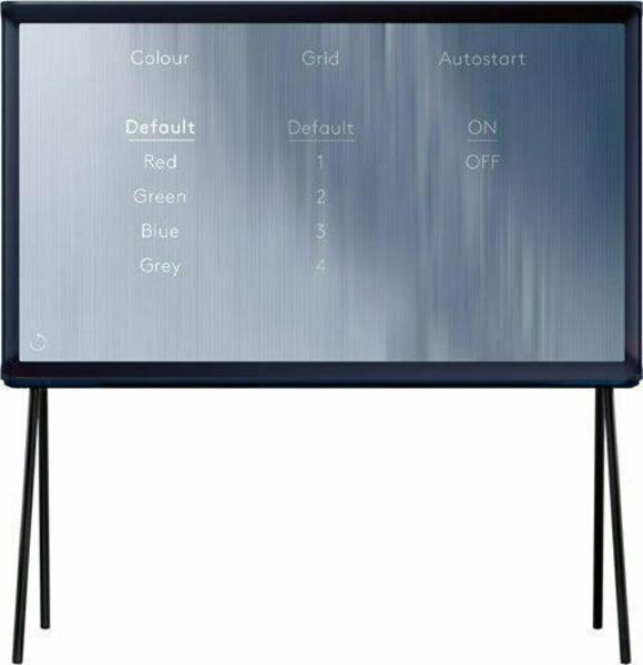 Samsung Serif TV UE40LS001 front on