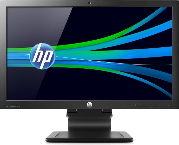 HP Compaq L2311c front on