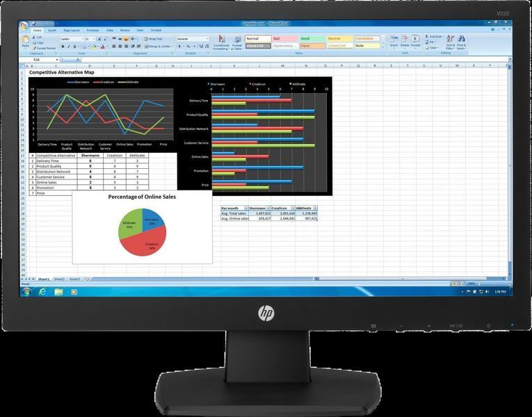 HP V222 Monitor
