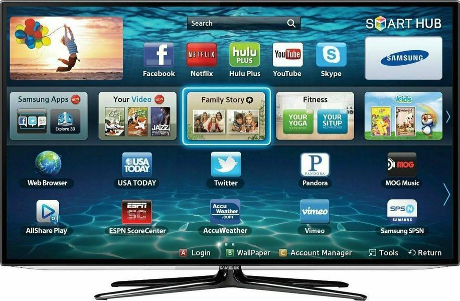 Samsung UN46ES6100F front on