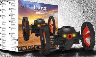 Parrot Jumping Sumo Black Drohne