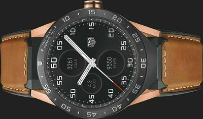 Tag Heuer Connected Leather