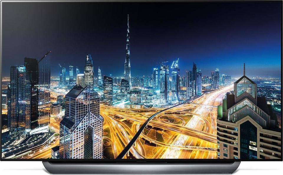 LG OLED55C8 front on