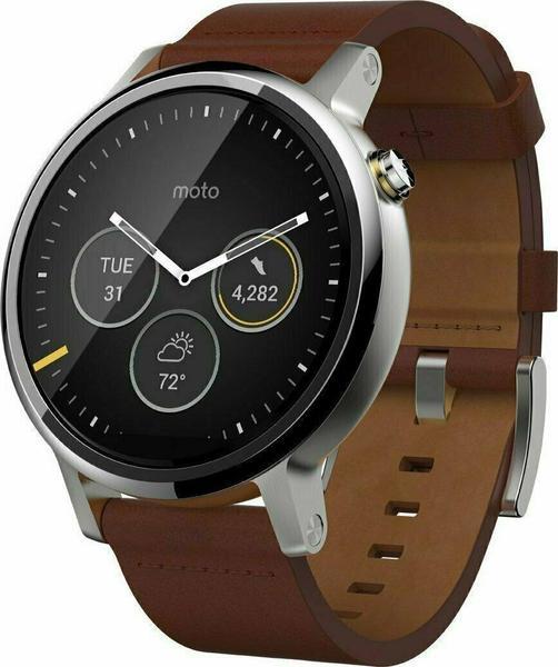 Motorola Moto 360 Leather Smartwatch