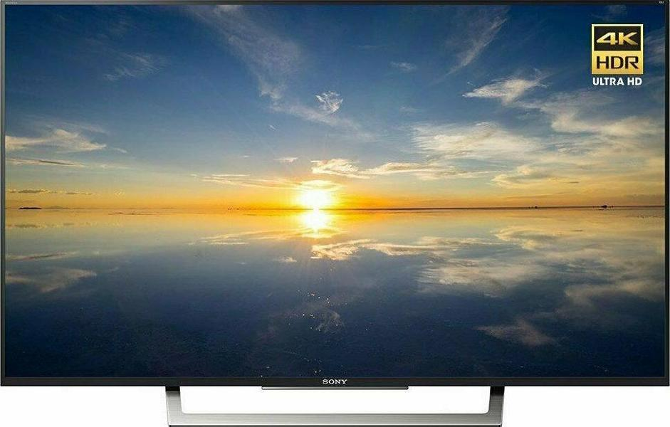 Sony XBR-43X800D front on
