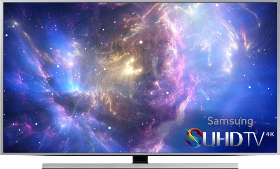 Samsung UN55JS8500 front on
