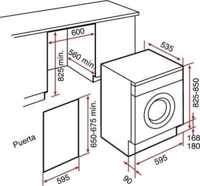 Teka LI2 126 Waschmaschine