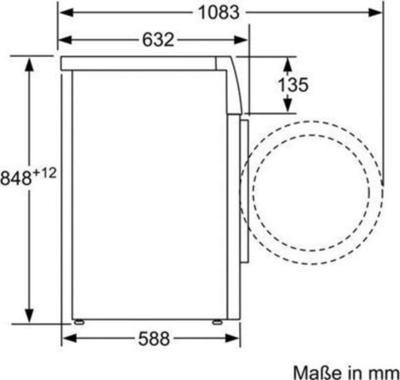 Bosch WAY28742 Waschmaschine