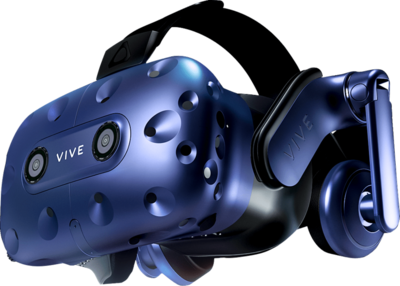 HTC Vive Pro HMD VR Brille