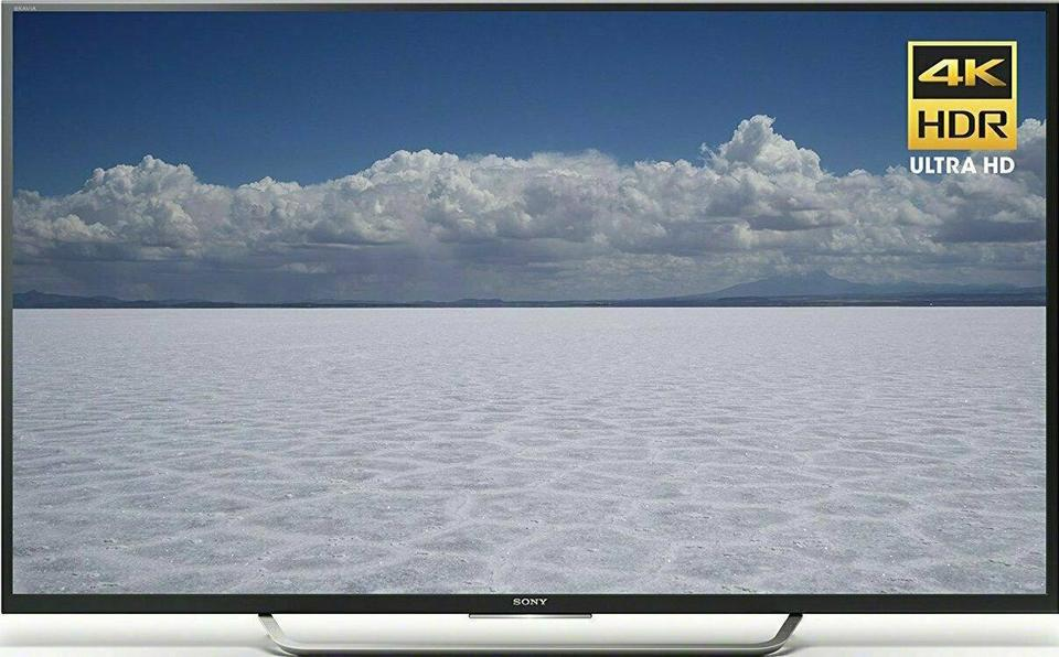 Sony XBR-49X700D front on