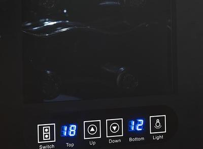 Hyundai VIN 12DZ Weinkühler