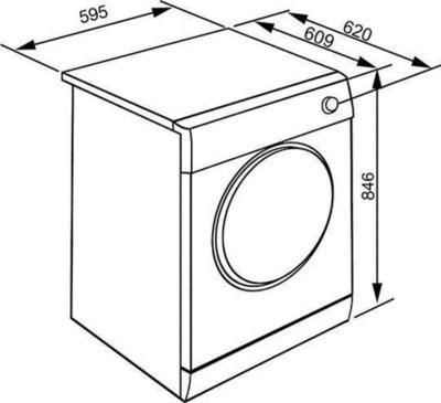 Smeg DHT83LIT-1 Wäschetrockner