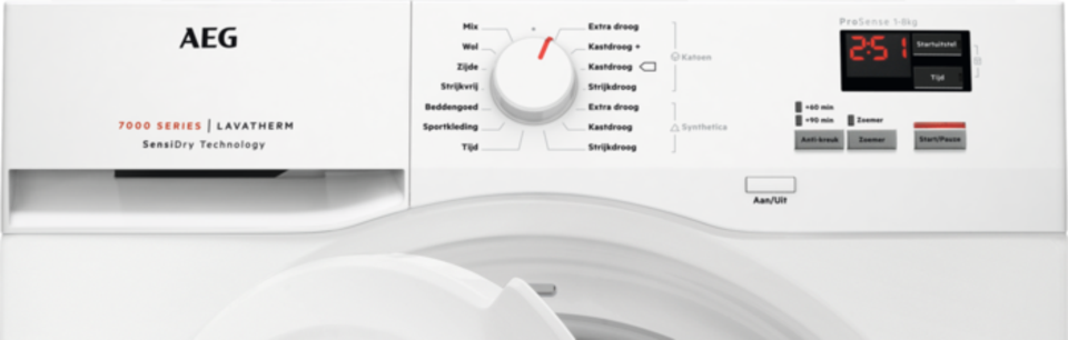 AEG T7DBN460 tumble dryer