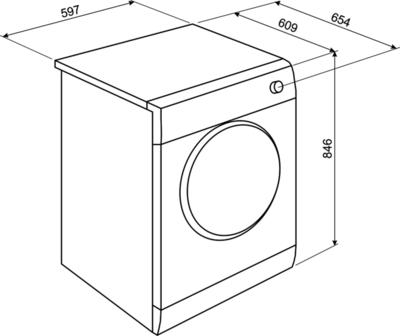 Smeg DHT93LIT Tumble Dryer