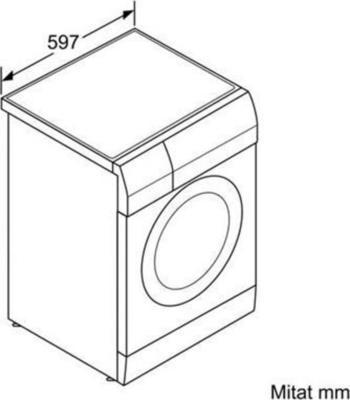 Siemens WD15H540DN Waschtrockner