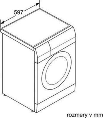Siemens WD15H542EU Waschtrockner