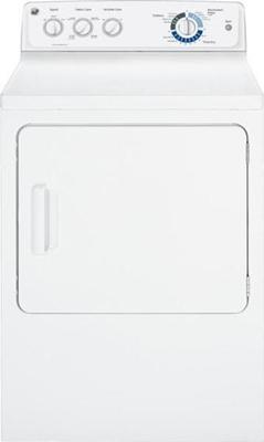 GE GTMP280EDWW Waschtrockner