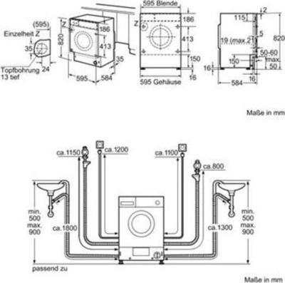 Siemens WDI1441 Waschtrockner