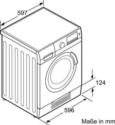 Siemens WD14H440 Waschtrockner