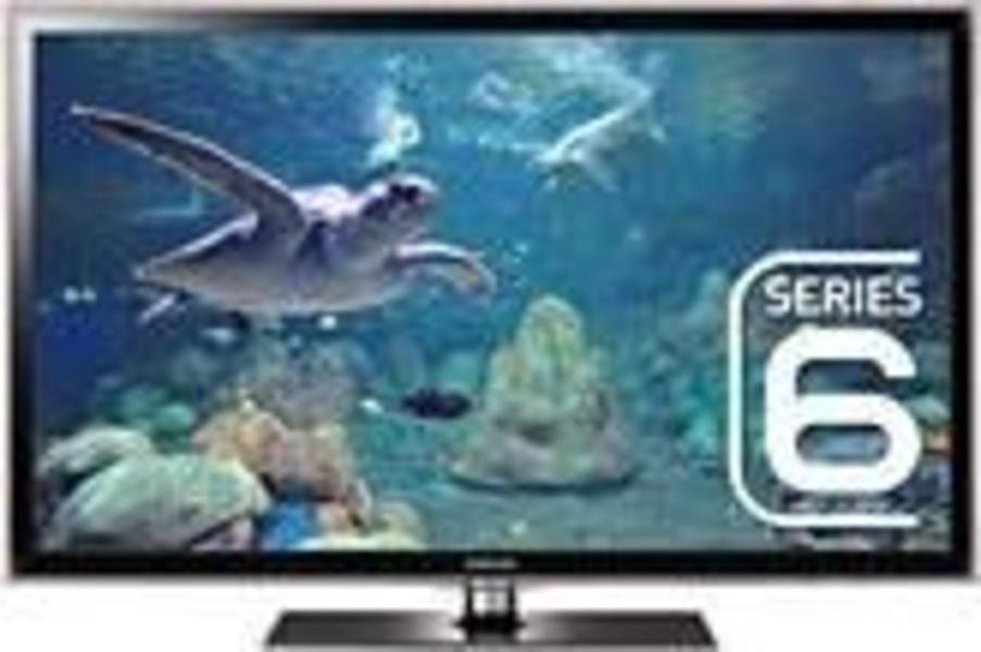 Samsung UE46D6100 front on