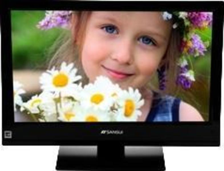 Sansui SLEDVD196 front on
