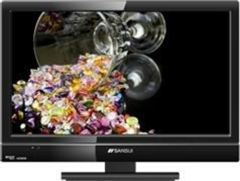 Sansui SLEDVD197 front on