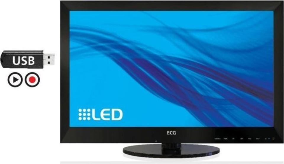 ECG 24 LED 302 PVR TV