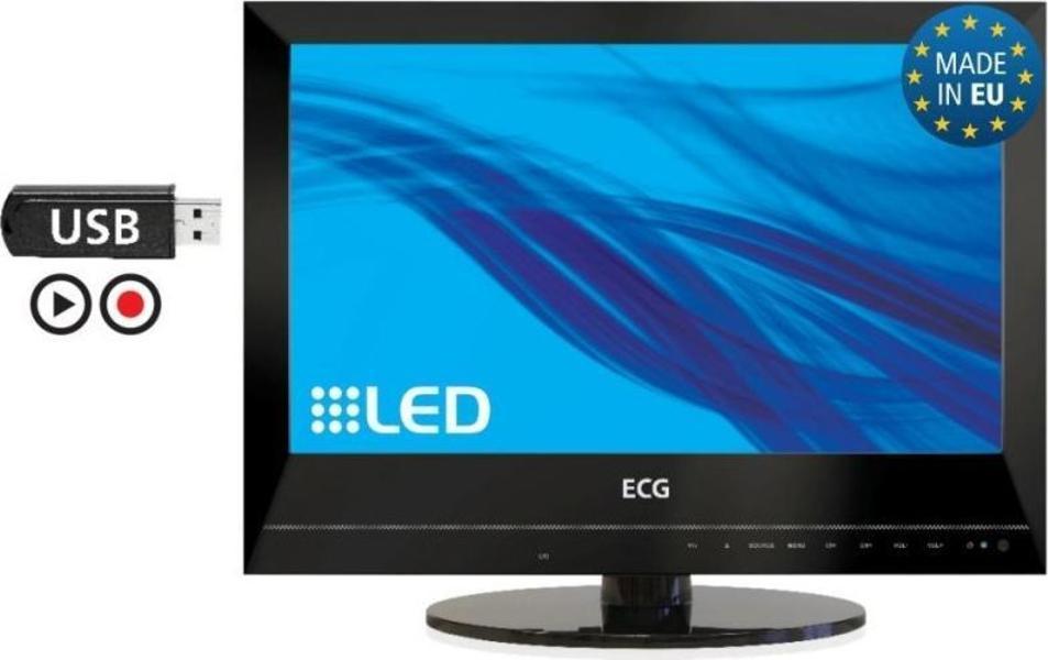 ECG 19 LED 200 PVR front on