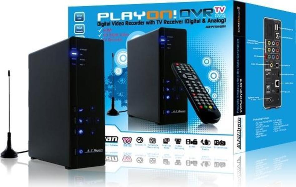 AC Ryan Playon! DVR TV 500GB Dvd Player