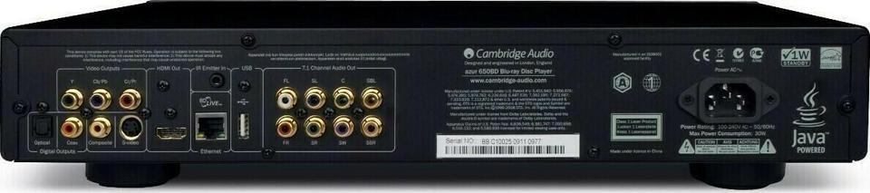Cambridge Audio Azur 650BD Blu-Ray Player