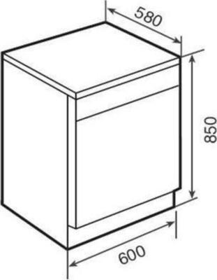 Teka LPM 809 Dishwasher