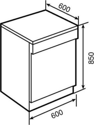 Teka LPM 849 Dishwasher