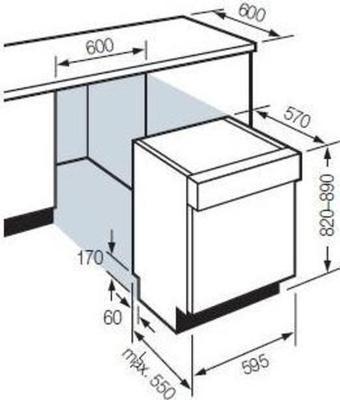 Fagor 1LF-017IX Dishwasher