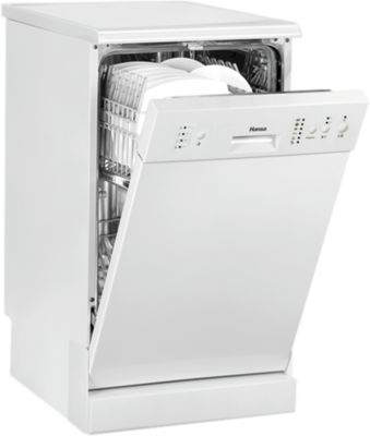 Hansa Haushaltsgeräte ZWM 456 WH Dishwasher