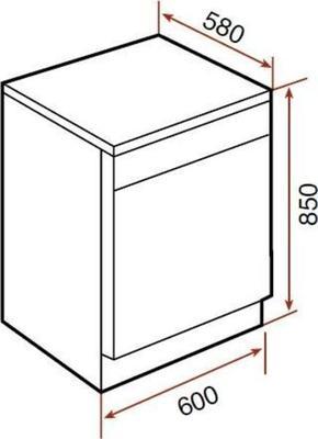 Teka LP7 811 Dishwasher