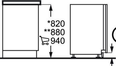 AEG F55340VI1 Dishwasher