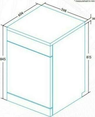 Edesa EDW-6021 X Dishwasher
