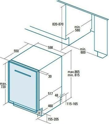 Cata LVI60012 Dishwasher