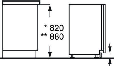 Zanussi ZDT12011FA Dishwasher