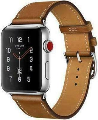 Apple Watch Series 3 4G Hermès 42mm Stainless Steel with Single Tour Smartwatch