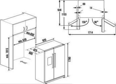 Küppersbusch KE9600-1-2 T Kühlschrank