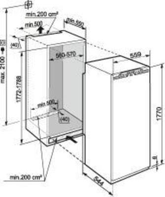 Liebherr IKBP 3550-20 Kühlschrank