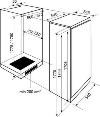 Airlux ARI32MA Kühlschrank