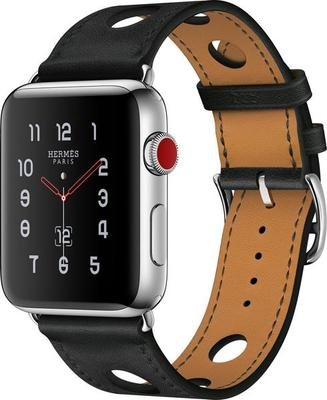 Apple Watch Series 3 4G Hermès 38mm Stainless Steel with Single Tour Smartwatch