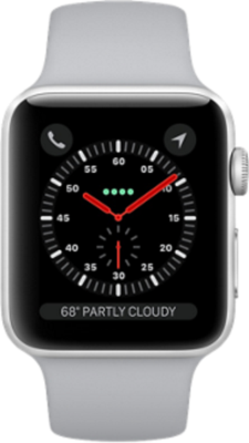 Apple Watch Series 3 4G 42mm Aluminium with Sport Band Smartwatch