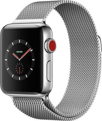 Apple Watch Series 3 4G 38mm Stainless Steel with Milanese Loop Smartwatch