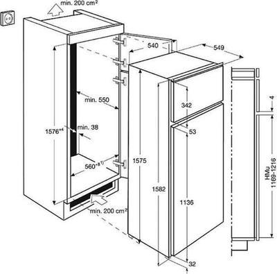 Electrolux EJN2710AOW Kühlschrank