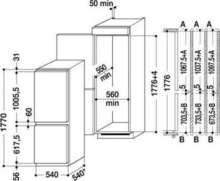 Whirlpool ART 6610/A++ Refrigerator