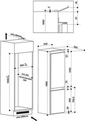 Hotpoint BCB 7525 E C AAA O3 S Refrigerator